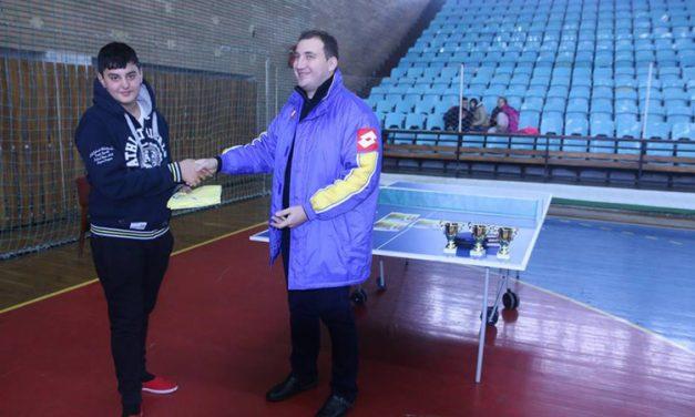 Cupa Unirii la tenis de masă şi-a desemnat câştigătorii