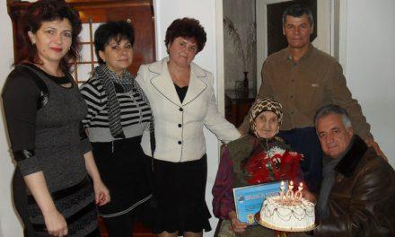 Primarul Hogea, alături de vârstnicii venerabili ai municipiului