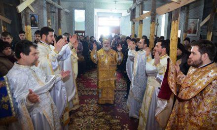 """Hramul Bisericii """" Sfinţii Trei Ierarhi """""""