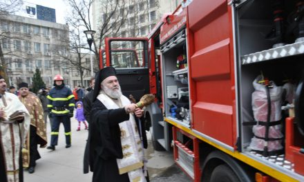 Autospeciale noi ale pompierilor sfinţite