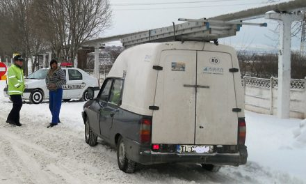 Doar 20% din cei controlaţi nu aveau maşinile echipate de iarnă
