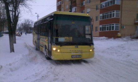 Transportul public a funcționat în parametrii normali