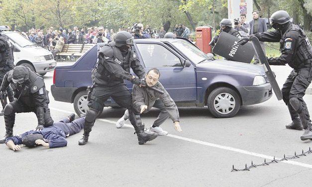 Incidente cu uz de armă înregistrare în Tulcea, anul trecut