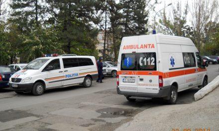 Scandalagiu înarmat la Spitalul Judeţean Tulcea