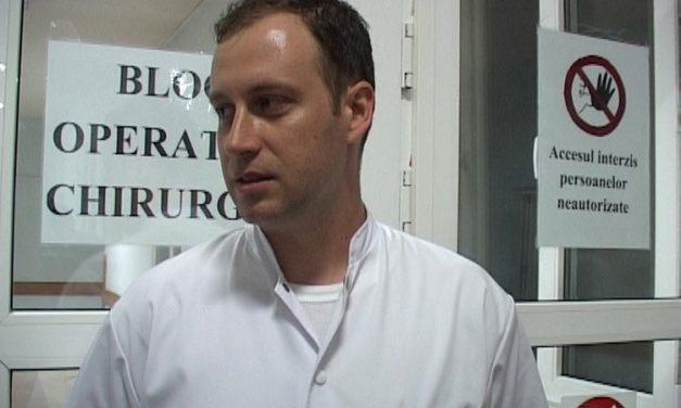 Dr. Tiberiu Corhan, coordonatorul programului de transplant de la Tulcea