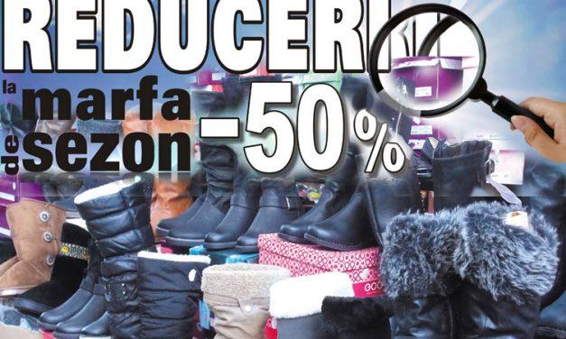 Reduceri de până la 70% la o gamă largă de produse