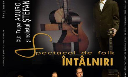 """Spectacol de muzică folk, la Teatrul """"Jean Bart"""""""