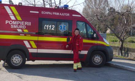 Fostă contabilă transformată într-unul dintre cei mai apreciaţi paramedici