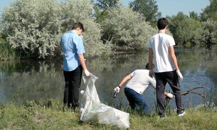 Curăţenie generală de-a lungul Dunării