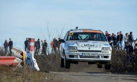 Daniel Pohariu şi Lucian Ştefan au testat traseele de la Raliul Braşovului