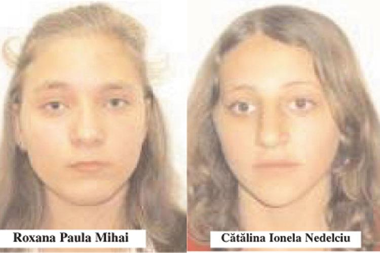 Două adolescente de 16 ani dispărute