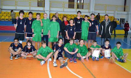 Echipa de baschet a Şcolii Gimnaziale Alexandru Ciucurencu, campioană judeţeană