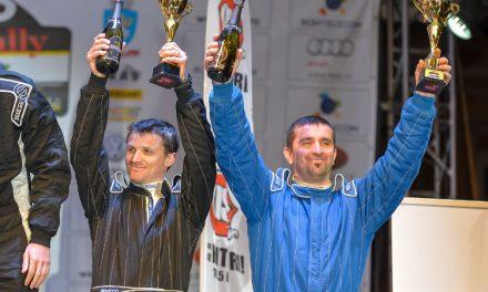 Echipajul tulcean Daniel Pohariu şi Lucian Ştefan pe locul III
