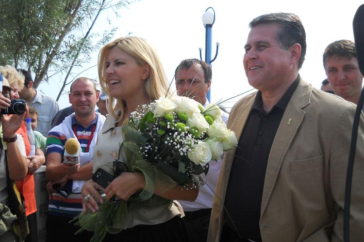 Elena Udrea vine la Tulcea să boteze organizaţia judeţeană a PMP