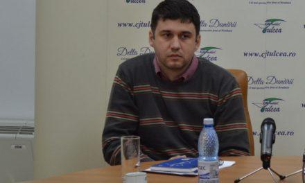 Mircea Jienescu, noul şef al Drumurilor Naţionale de la Tulcea