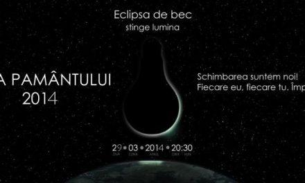 Municipiul Tulcea luptă pentru Capitala Earth Hour 2014
