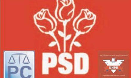 PC şi UNPR, joc de glezne în faţa PSD