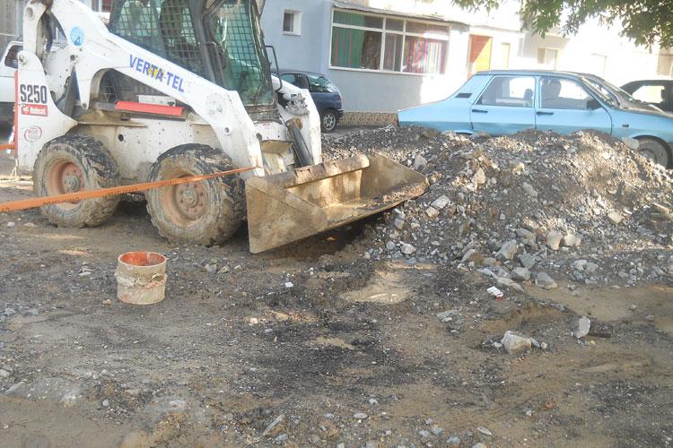 Pozarea conductelor de apă-canal pe strada Păcii va fi scoasă la licitaţie