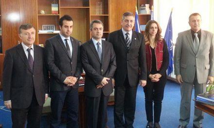 Prefectul Simion a primit vizita oficială a noului Consul General al Turciei la Constanţa