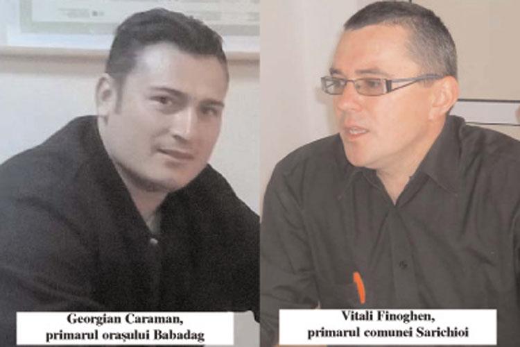 Primarii din Babadag şi Sarichioi, băieţi deştepţi