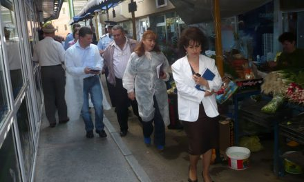 Măcelăriile din Tulcea controlate de inspectorii Direcţiei Sanitare Veterinare