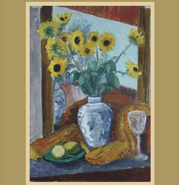 Vas cu flori galbene, de Theodor Pallady