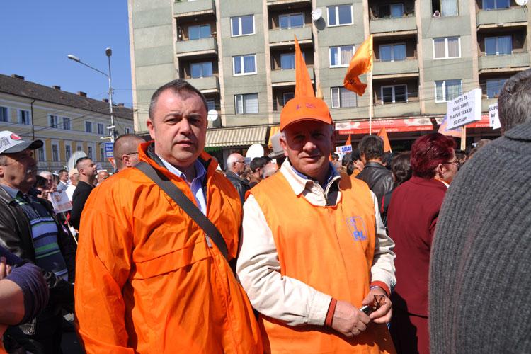 Pedelişti tulceni la mitingul de la Cluj-Napoca