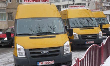 Microbuze şcolare așteptate și în județul Tulcea
