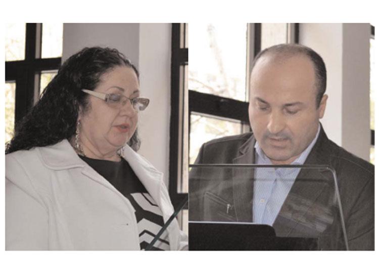 Sofia Chiriac şi Florenţiu Constantin,noi membri ai CJ Tulcea