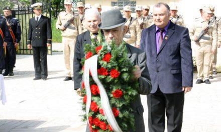 Ceremonie militară de Ziua veteranilor de război la Tulcea