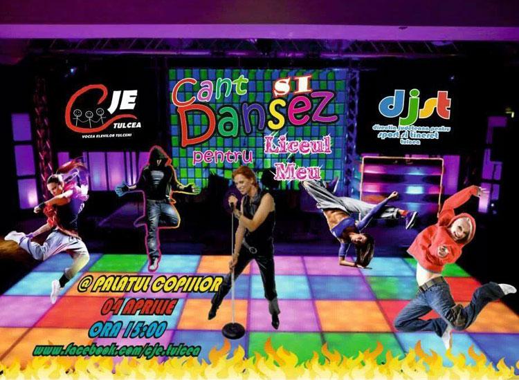 Dansez şi cânt pentru liceul meu