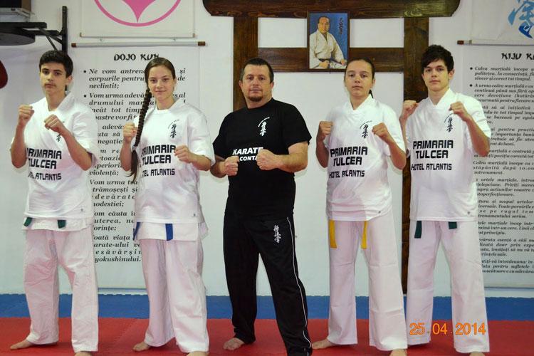 Elevii maestrului Pănuţă, la Campionatul Europeande Karate Kyokushin