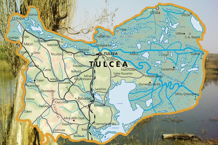 O nouă hartă a deltei dă emoţii administraţieilocale de la Tulcea