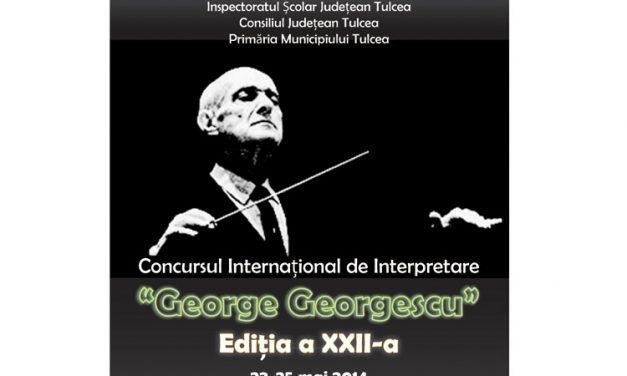 """Concursul Internaţional de Interpretare """"George Georgescu"""", la cea de-a XXII-a ediţie"""