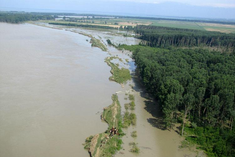 Coşmarul inundaţiilor din 2010 încă nu s-a şters din memoria autorităţilor de la Tulcea