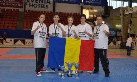 Elevii lui Pănuţă s-au întors cu fruntea sus din Spania: un titlu de vicecampion european şi două medalii de bronz
