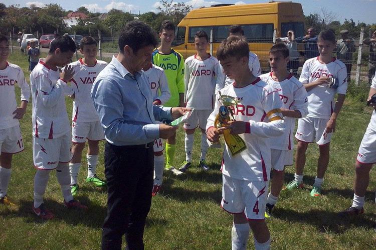 FC Delta Tulcea, campioană la juniori C şi D