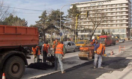 Începe marea asfaltare