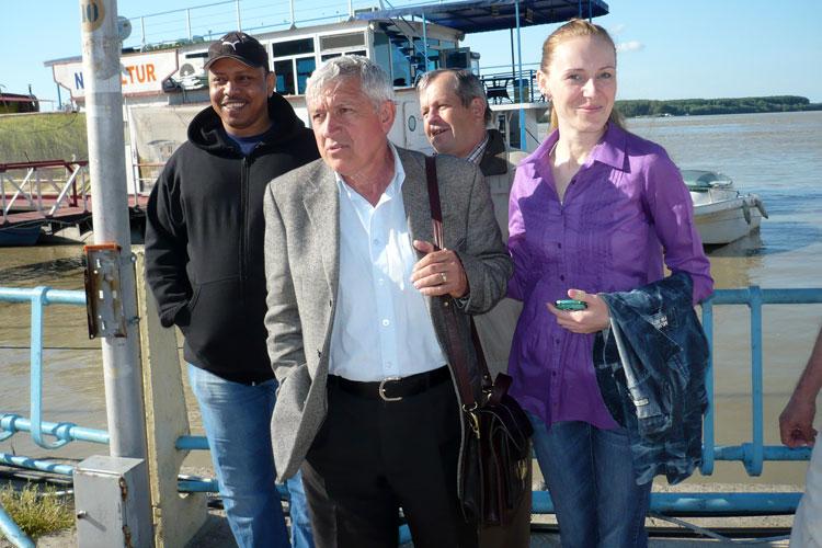 Mircea Diaconu, vizită electorală la Tulcea