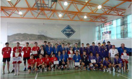 Bronz pentru echipa de volei băieţi a Şcolii Gimnaziale