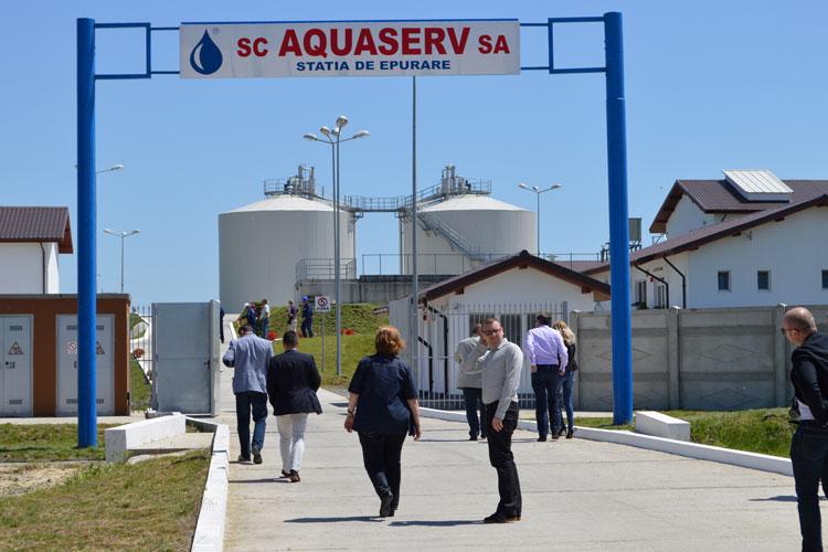 Staţia de epurare din municipiu a fost inaugurată