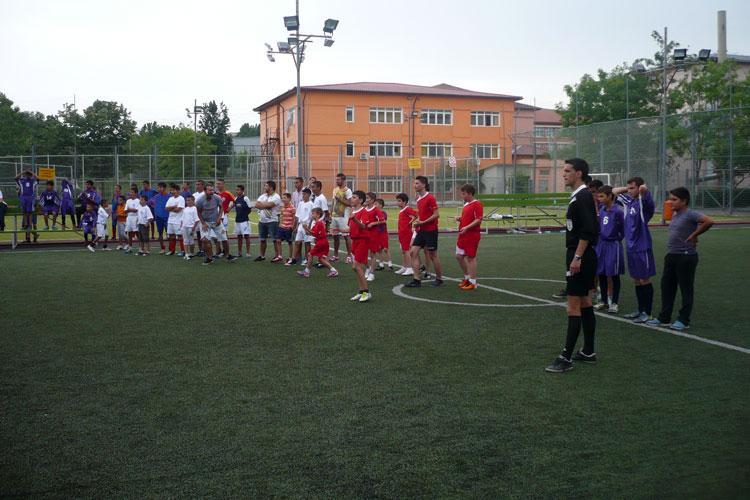 """UEFA Grassroots Day – """"Ziua fotbalului de bază"""", marcată şi la Tulcea"""