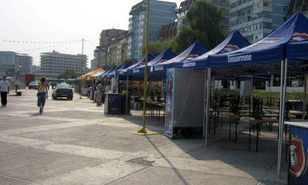 A venit vara: terasele sezoniere din municipiu îşi aşteaptă clienţii