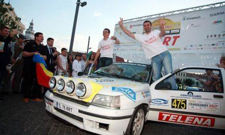 Încă un podium dublu pentru Daniel Pohariu şi Lucian Ştefan la Transilvania Rally