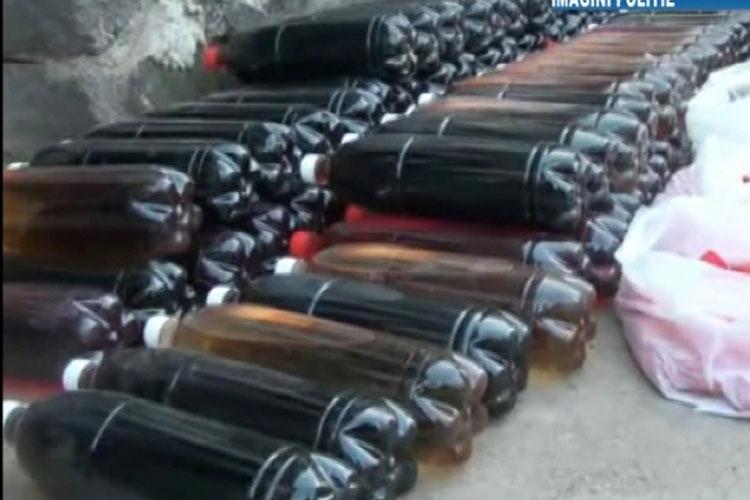 Patru tulceni fabricau în Constanţa vin din apă,drojdie, zahăr şi sare de lămâie