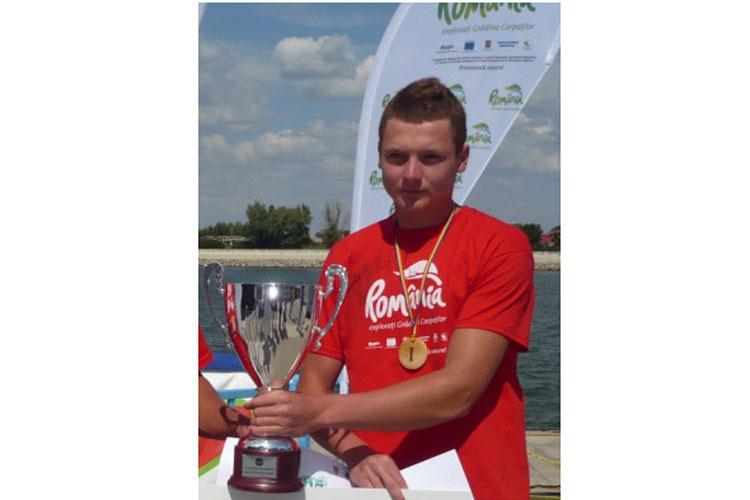 Tulceanul Leonid Carp, triplu medaliat cu aur la Regata Internaţională!