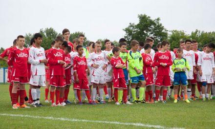 VARD, investiţie în generaţia tânără a fotbalului tulcean