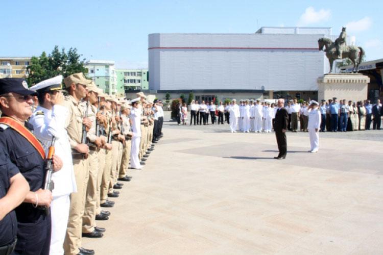 Ziua Drapelului Naţional, sărbătorită şi la Tulcea