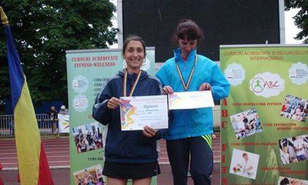 Campionatul Naţional de Atletism al veteranilor: Nicoleta Ciortan, dublă medaliată cu aur
