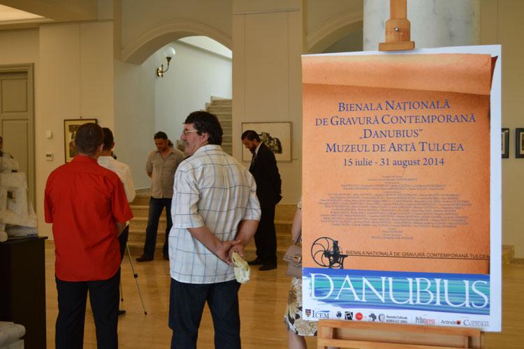 """Prima ediţie a Bienalei Naţionale de Gravură Contemporană """"Danubius"""""""